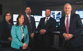 Corning Incorporated staff; security operations center, international security, security leadership, security command center