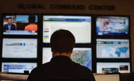The Johnson Controls GSOC; security leadership, security command center