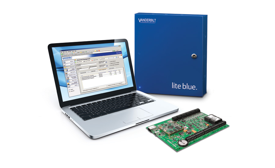 Vanderbilt lite blue™  Web-Based Access Control