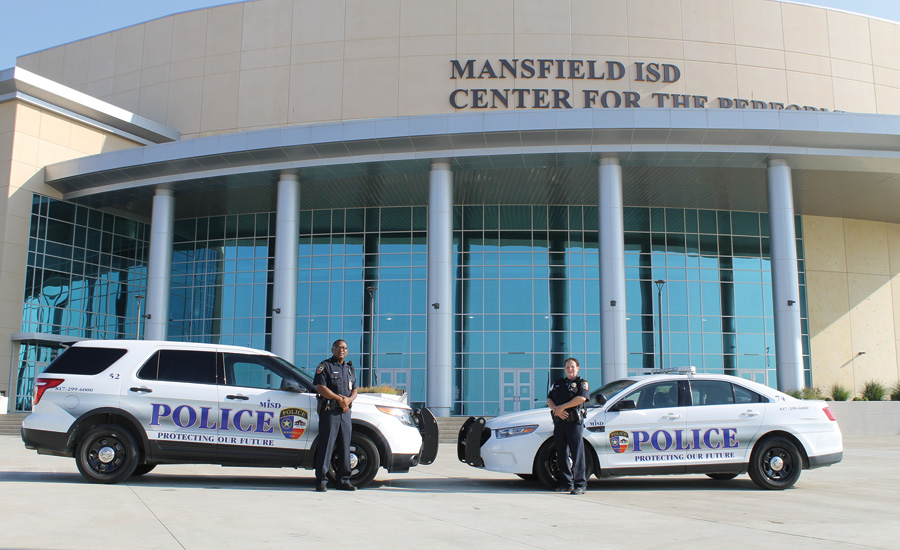 Mansfield ISD Police Department in Texas; school surveillance, school security