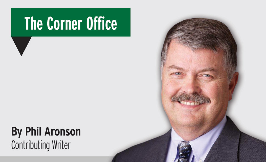 Phil Aronson, The Corner Office