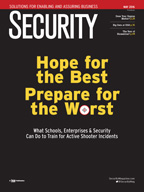 Security May 2016 cover: Hope for the Best Prepare for the Worst