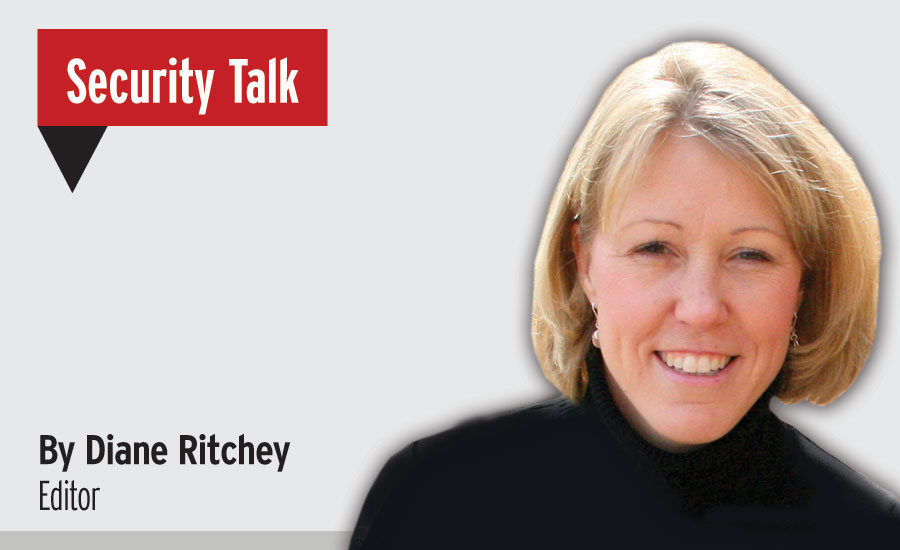 Diane Ritchey, Security Talk