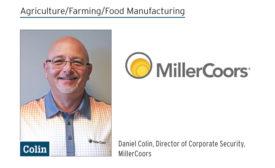 Daniel Colin, Director of Corporate Security, MillerCoors