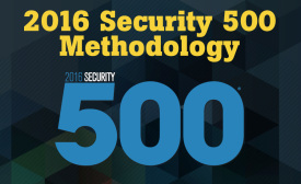 The 2016 Security 500 Methodology