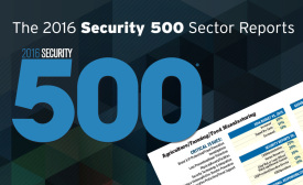 The 2016 Security 500 Sector Reports