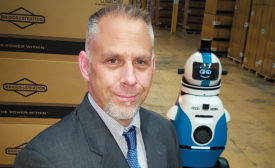 Dave Droster, director, global security for Briggs & Stratton, has been able to shrink the number of security officers