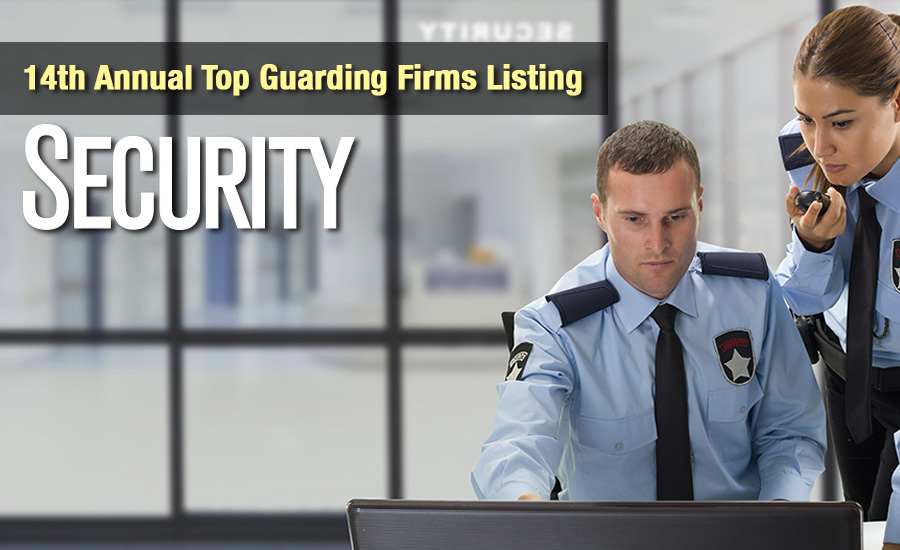 Securitys Top Guarding Companies List 2016