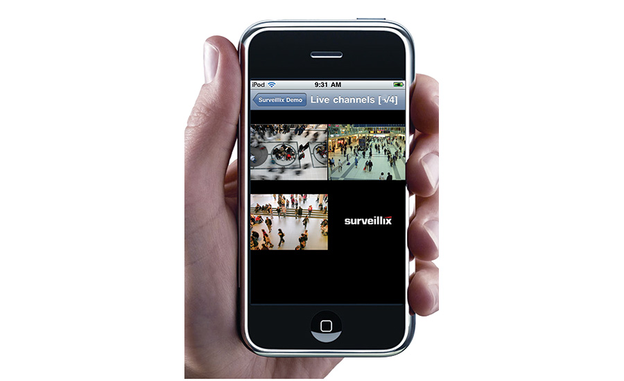 Enables Instant Mobile Surveillance Access