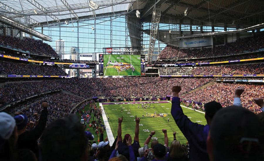 U.S. Bank Stadium is owned and operated by the Minnesota Sports Facilities Authority