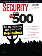 Security Magazine November 2017 Cover