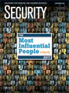 Security Magazine September 2017 Cover