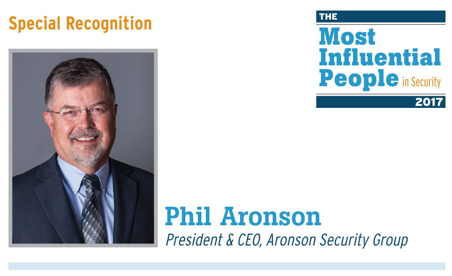 The most influential people in security 2017 2017 09 01 for Aronson associates