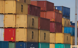 Cargo containers at the Port of Long Beach - Security Magazine