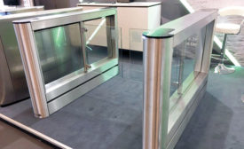Smarter Security's Fastlane turnstile model Glassgate 155 - Security Magazine
