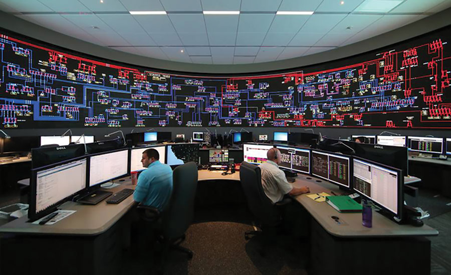 Southern California Edison monitors operations from its grid control center - Security Magazine