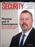 Security Magazine Cover - April, 2018