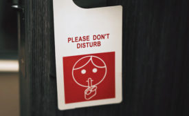 Goodbye, Do Not Disturb Signs - Security Magazine