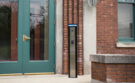 Talkaphone Via Series Access and Courtesy Communication Pedestal - Security Magazine