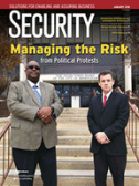 Cover - Security Magazine - January, 2018