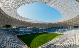 Ion Oblemenco Stadium in the Romanian city of Craiova - Security Magazine