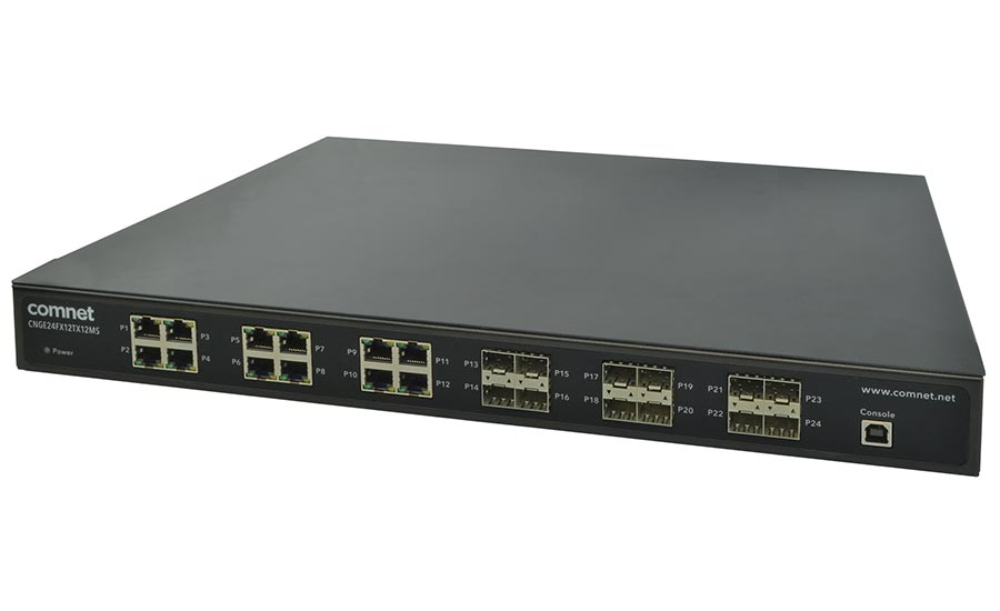 ComNet 24-Port Gbps Managed Power Over Ethernet Switch - Security Magazine