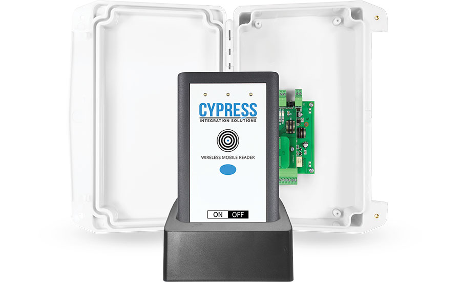 Cypress Wireless Handheld Readers and Suprex® Reader-Extenders - Security Magazine
