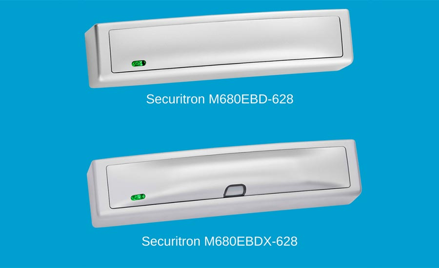 Securitron M680E Series Magnalock with EcoMag technology from ASSA ABLOY Electronic Security Hardware - Security Magazine