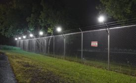Senstar LM100 hybrid perimeter intrusion detection and intelligent lighting system - Security Magazine