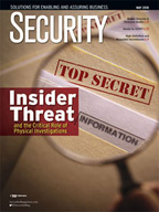 Security Magazine - May, 2018