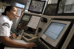 Security monitoring station