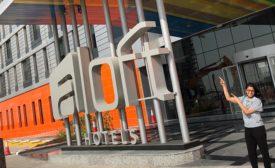 Aloft Hotel, Dubai exterior