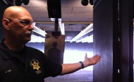 Civilian Weapons Instructor Jerry Lee from the Katella Range in Orange County