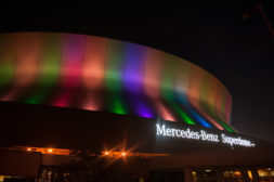 The Mercedez-Benz Superdome in New Orleans