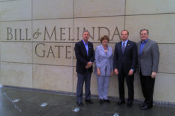 OSAC members in front of Bill and Melinda Gates Foundation