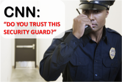 Security Officer CNN