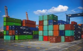 Shipping containers as a threat to the security of the global supply chain