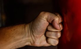 Workplace violence bullying aggression trend in UK