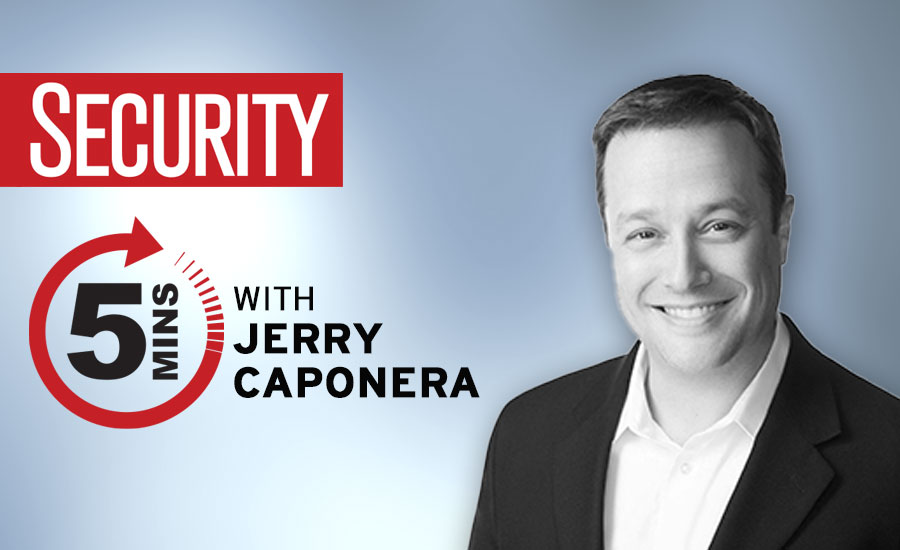 5 minutes with Jerry Caponera – Developing a risk-oriented view into cybersecurity