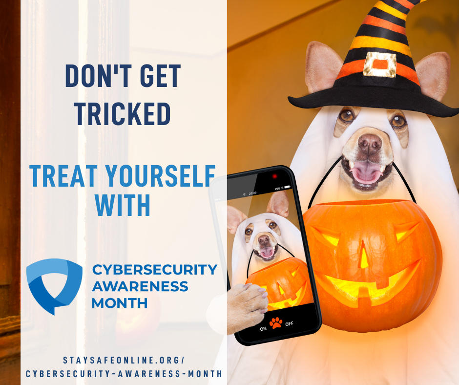 October marks Cybersecurity Awareness Month