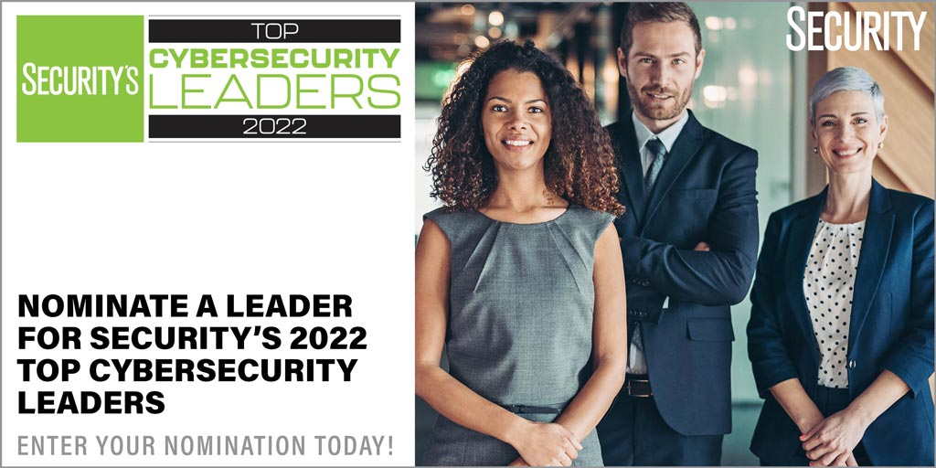 Nominate the top cybersecurity leaders in the security industry