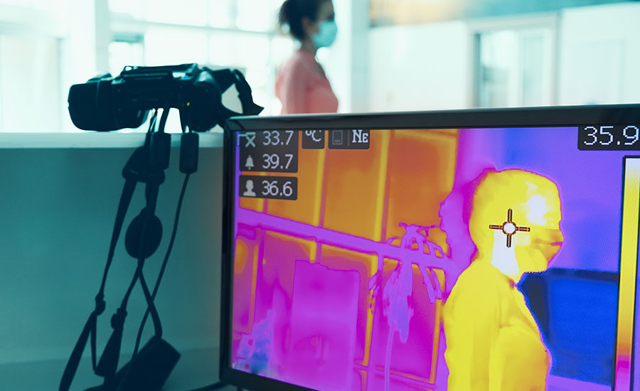 How thermal imaging cameras will help facilities reopen in a
