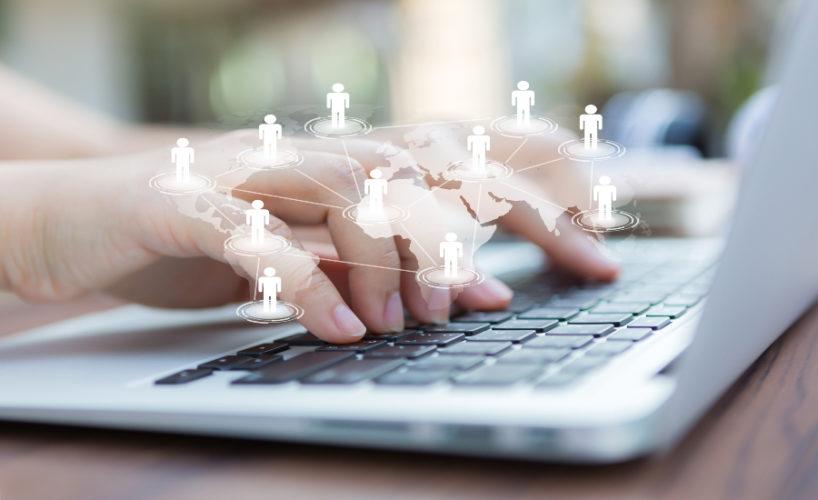cyber communication freepik