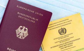 Vaccine passport identity