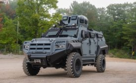 armoured vehicle protection