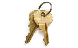 keys on keychain
