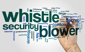 Whistleblower Word Cloud
