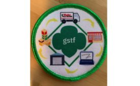 First-ever Girls Scouts Supply Chain Patch for future female executives